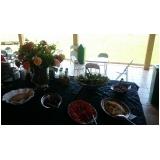 buffet para almoço de funcionários Villa Flora Hortolandia