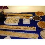 buffet para café da tarde Jardim do Sol
