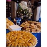 buffet para empresa de café da manhã em sp Lenheiro