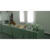 buffet para evento em empresa preço Vila Progresso