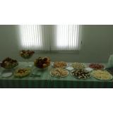 buffet para evento em empresa valor Jardim São Francisco
