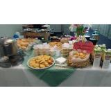 buffet para evento em empresa Monte Mor