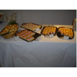 buffet para evento empresarial preço Jardim Londres