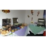 buffet para evento empresarial valor Residencial Colina das Nascentes