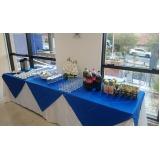 buffet para evento empresarial Quinta dos Jatobás
