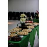 buffet para evento executivo preço Vila Real Santista