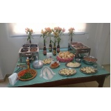 buffet para evento social preço Jardim Esplanada