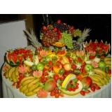 buffet de brunch para casamento