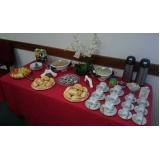 buffet de café da manhã para evento