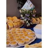 buffet para empresa de café da manhã
