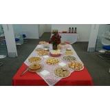 buffet para eventos corporativos preço Jardim Santa Adélia