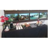 buffet para feira promocional preço Jardim do Lírio