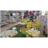 buffet para feira promocional Colinas do Ermitage III