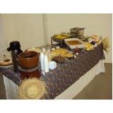 buffet para festa empresarial Jardim Lisa