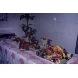 buffet para festa natalina em empresa Res. Nova Era