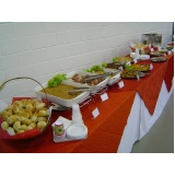 buffet para happy hour de empresa Notre Dame
