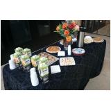 buffets corporativo para empresa Vila Santa Rita