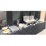 buffet de almoço em empresa