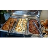 buffets de almoço para colaboradores Remanso