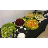 buffets de almoço para empresas Samambaia