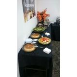 buffets de almoço para treinamento corporativo Villa Flora Hortolandia