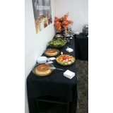 buffets de almoço para treinamento corporativo Residencial Colina das Nascentes