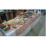 buffets de coffee break junina Parque Continental