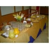 buffets de coffee break para palestras Engordadouro
