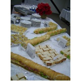 buffets de coffee break Jardim Lisa