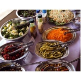 buffets para almoços de confraternização Reserva da Floresta