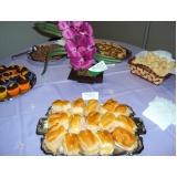 buffets para café da tarde Americana