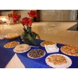 buffets para eventos sociais Loteamento Center Santa Genebra