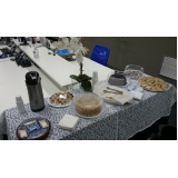 café da manhã corporativo para reunião