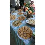 café da manhã empresarial personalizado valor Bairro San Martin