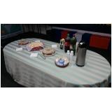 café da manhã para 50 pessoas preço Parque Centenário