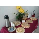 café da manhã para 50 pessoas Chácara das Videiras