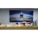 café da manhã para confraternização CDHU Campinas F