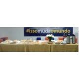 café da manhã para empresa Ponte São João