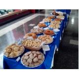 café da manhã para evento empresas preço Parque Morangaba
