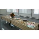 café da manhã para formatura valor Vila Municipal