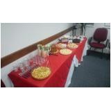 café da manhã para palestras Jardim do Lírio