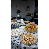 coquetéis para 100 pessoas Jardim Florence