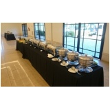 empresa que serve coffee break Jardim Liliza