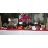 evento empresarial buffet de almoço Res. Jardim Florencia