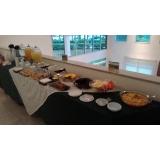 evento empresarial buffet executivo valor Núcleo Residencial Vila Francisca