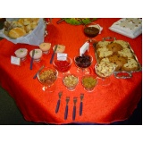 buffet para coquetel empresarial