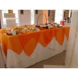 buffet para feira promocional