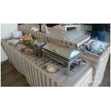 onde encontro buffet de almoço para evento empresarial Jardim Ermida II
