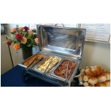 onde encontro buffet para almoço de funcionários Residencial Novo Mundo