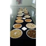 onde encontro buffet para evento em empresa Santa Rita de Mato Dentro
